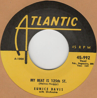 Used, R&B RERPO: ATLANTIC: EUNICE DAVIS–MY BEAT IS 125TH ST/GO TO WORK PRETTY DADDDY for sale  Halsey