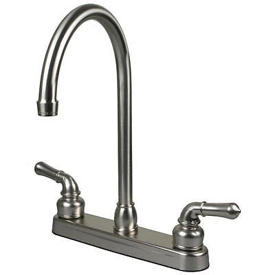 Brushed Nickel RV / Motor and Mobile Home Kitchen Faucet Home & Garden