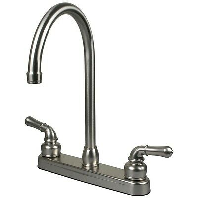 Rv Kitchen - RV / Mobile Home Motor Vehicle Kitchen Sink Faucet - Stainless Steel Finish