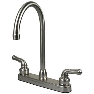 Rv Mobile Home Motor Vehicle Kitchen Sink Faucet Stainless
