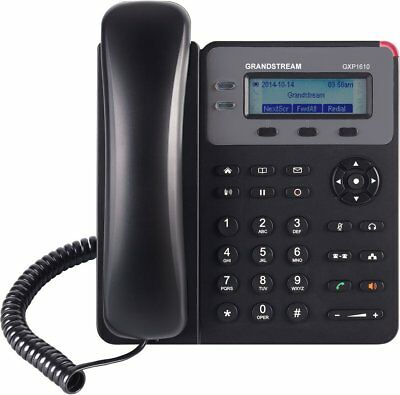 2 Line Corded Integrated Phone (GRANDSTREAM GXP1615 VOIP 2 Line HD IP Phone Integrated PoE LCD - FREE SHIPPING)