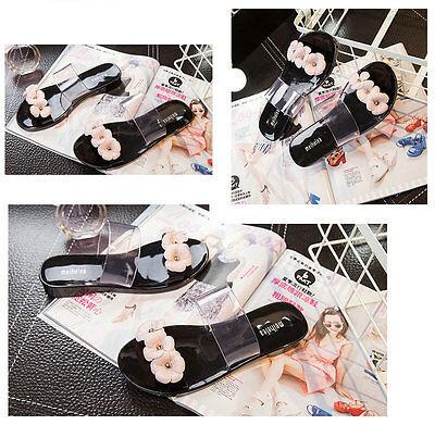 Women Summer Open Print Flip-flops Sandals Slipper Indoor Outdoor Beach Shoes