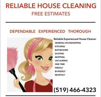 Reliable House Cleaning in Sarnia