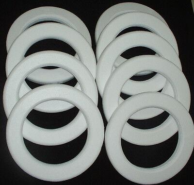 9 pc Styrofoam EPS Polystyrene WREATHS 14