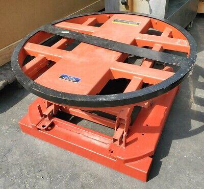 Uline Presto 44 Diameter Pallet Lift Table Positioner Self Leveling