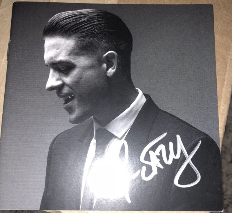 AUTOGRAPHED G-EAZY When It's Dark Out CD SIGNED