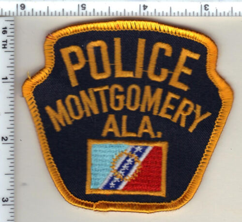 Montgomery Police (Alabama) Shoulder Patch - New from 1992