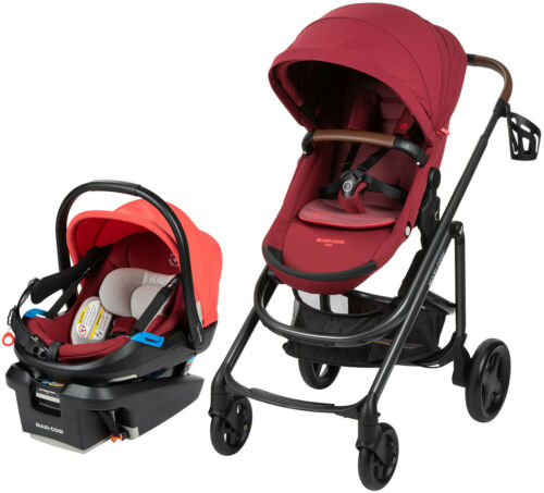 Maxi-Cosi Tayla Travel System Stroller w/ Coral XP Car Seat Essential Red NEW