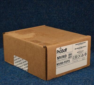 New Sealed Prosoft Mvi69-pdps Profibus Dp Slave Comm Module