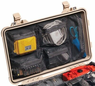New Lid Organizer 1519 fits Pelican 1510 case