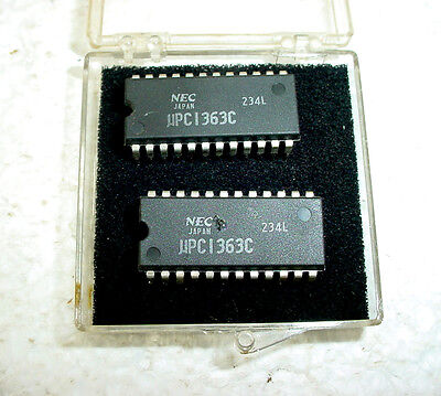 Lot Of 2 Nec Upc1363c 16 Channel Electronic Selector Ics Data Sheets