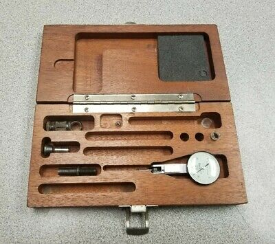 Brown Sharpe 7030-3 Dial Test Indicator Box And Accessories