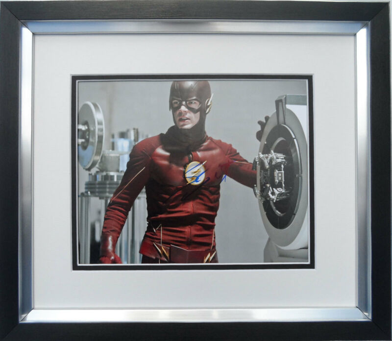 Grant Gustin authentic signed Flash 10x8 photo FRAMED AFTAL & UACC [12390] COA