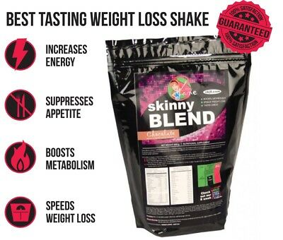 Skinny Blend, Best Tasting Weight Loss Shake for Women, Low Carb Diet, 30