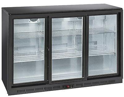 Vetrina refrigerata frigorifero frigo 3 porte Scorrevoli  Bibite Bar Ristorante usato  Fogliano Marina