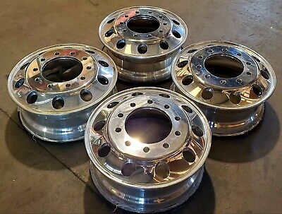 Aluminium Truck Wheels Rims 22.5 x 8.25 (Set of 4) LOCAL PICK UP