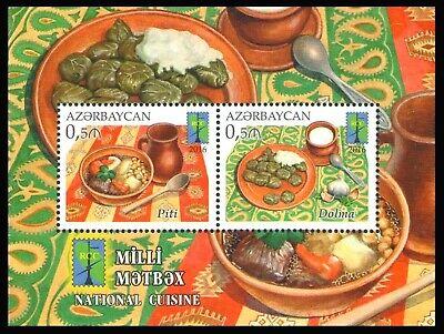 Azerbaijan 2016 * National Cuisine * RCC * Block * MNH