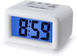 Plumeet Digital Clock - Kids Alarm Clocks with Snooze and Backlight - Simple