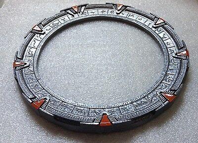 "Silver Stargate SG1 Gate/Ring/Model replica - 7 3/4"" (19.7cm)"