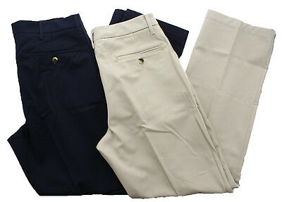 Wrangler Men's Pleated Front Classic Fit Dress Pants Ultimate Khaki Navy No -