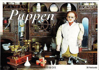 Postkartenbuch Puppen, Puppenstuben —  30 Postkarten  NEU!