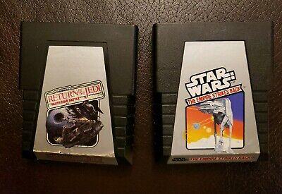 Atari Star Wars Return Of The Jedi Death Star Battle & The Empire Strikes Back