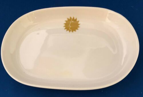 National Airlines - Sun King Pattern Rectangular Tray by Sterling