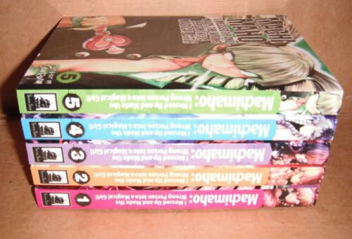 Machimaho: I Messed Up and Made the Wrong Person Vol. 1,2,3,4,5 Manga English