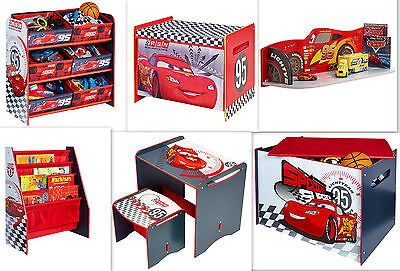 Disney Cars Auswahl Möbel Regal Spielzeugtruhe Tisch Stuhl Spielebox Kinderregal
