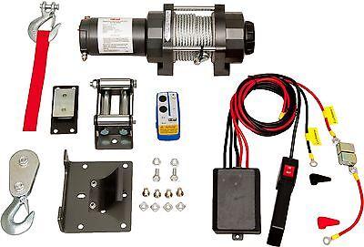 12V elektrische Seilwinde 4800 Kg Motorwinde Seilzug 12 Volt & Funkfernbedingung