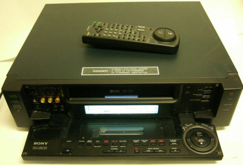 Sony SVO-2000 Stereo Videocassette Recorder VCR