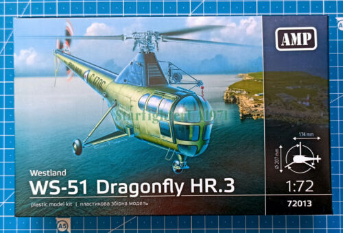 1/72 Westland WS-51 Dragonfly HR.3 (AMP 72013)
