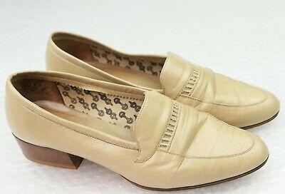 souliers escarpins dame beige GUCCI taille 38 shoes zapatos uk 4.5