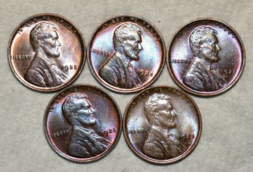 Brilliant Uncirculated 1925-P Lincoln Cent, Beautiful specimens