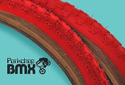 - Kenda Comp 3 III old school BMX skinwall gumwall tires 20