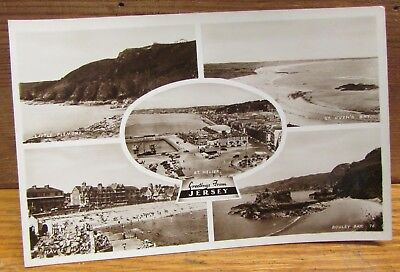 Old Area Real Photo Postcard - Bailiwick of Jersey Channel Island