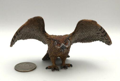 Schleich EAGLE OWL Wings Spread 14738 Animal figure 2014