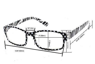 trendy reading glasses pn64  Slim Reading Glasses form 000 to 400 Unisex Trendy Designer Spring Geek