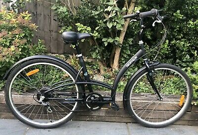 "Ladies Decathlon Elops 1 City Bike 17"" Frame 26"" wheel step through"