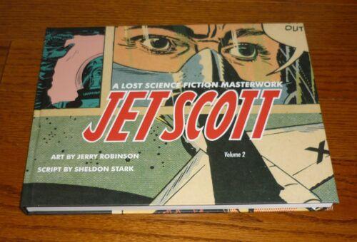 Jet Scott Volume 2 Jerry Robinson art! Dark Horse hardcover book, NEW! Unread!