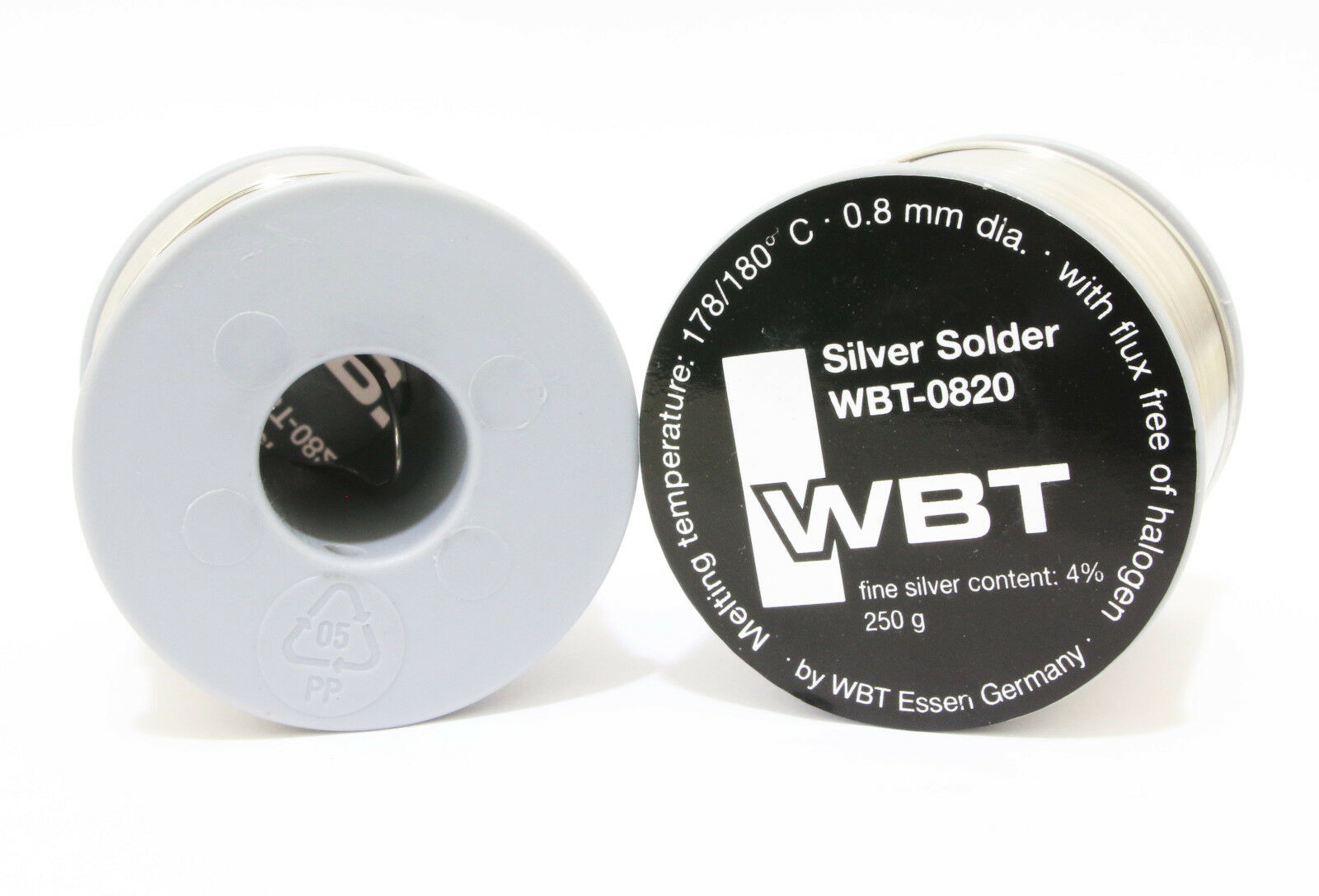 WBT 0820 Silver solder 250g//73M*1pcs for RCA plug wire tube amplifier