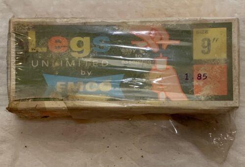 "Legs Unlimited By EMCO, Vintage Original box  9"" leg brackets 74-2648 universal"