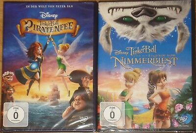 2 Tinkerbell DVDs im Paket Piratenfee , - Tinkerbell Fee Pirate