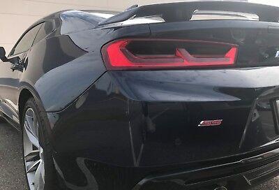 16-18 CAMARO smoked tinted precut vinyl TAIL LIGHT covers overlays Camaro Tail Light Covers