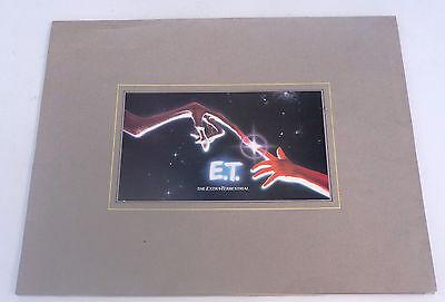 original E.T. Extra-Terrestrial Academy Awards Oscar prints / photos