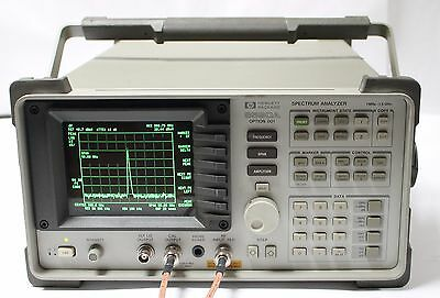 Hpagilent 8590a Spectrum Analyzer 1mhz - 1.5 Ghz Options 001 021
