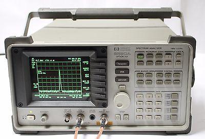 Hpagilent 8590a Spectrum Analyzer 1mhz - 1.5 Ghz Options 001 021