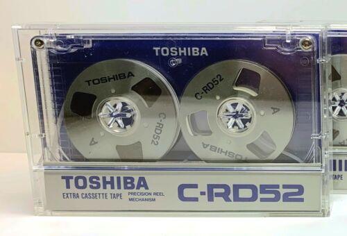 ONE TOSHIBA C-RD52 reel to reel Vintage Audio Cassette Blank Tape . JAPAN . RARE