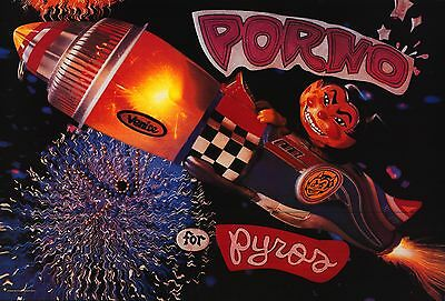 Music Poster Porno For Pyros 1993 Pets 23X35  Perry Farrell Janes Addiction Nos
