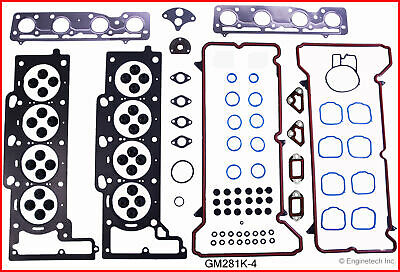 ENGINETECH GM281K-4 Engine Rebuild Gasket Set